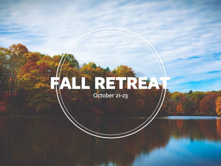 Come to Fall Retreat